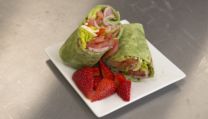 Healthy wrap for students