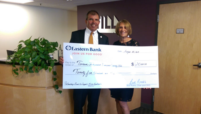 Eastern Bank Donation